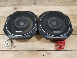 Vintage SANYO AUDIO SPEC SP9036 6.5 with Grill Cover NOS - $69.25