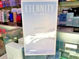 Eternity SUMMER 2014 CK Calvin Klein Toilette EDT 3.4 oz 100 ml Spray Me... - $59.99