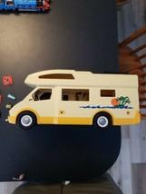 Playmobil 5928 RV Motor Home Family Camper Van Only 2005 Geobra Travel V... - $15.84