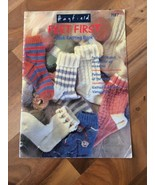 Hayfield Feet First Sock Knitting Book 7137 pamphlet  - $13.99
