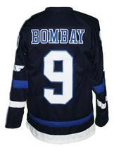 Any Name Number Mighty Ducks Hawks Hockey Jersey Navy Blue Bombay 9 image 2