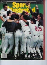 Minnesota Twins 1991 World Series Si Magazine Mlb Baseball No Label - $3.95
