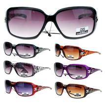 CG Eyewear Art Nouveau Geometric Pattern Rectangular Plastic Designer Su... - $13.19 CAD+