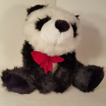 Panda Plush 22 Inches Long Black White Under-stuffed Soft Hug-able Birth... - $25.00