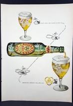1948 Ballantine's Ale Vintage Magazine Print Ad - $7.43