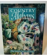 Country Afghans The Vanessa Ann Collection Crochet Pattern Leisure Arts 100371 - $12.82