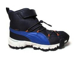 Puma Maka Puretex V Jr(Junior) Blue Outdoor Boots #19291101 - $59.99