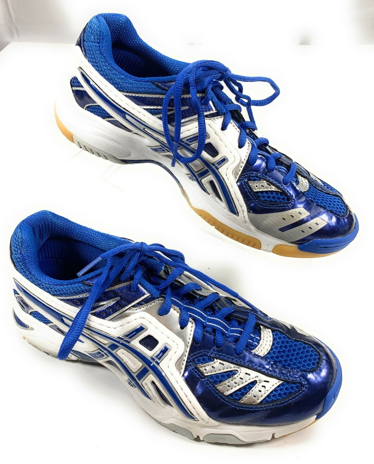 ASICS B055NGel VolleyLyte Volleyball Shoes Sneakers Women's 10 US