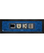 Personalized Duke University Campus Letter Art Framed Print - $39.95
