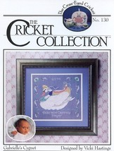 Cricket No. 130 Gabrielle's Cygnet Baby Swan Cross Stitch Pattern Leaflet - $3.57