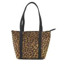 Donna Sharp Large Leopard Leah Cotton Handbag - $40.00