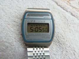 Vintage Texas Instruments Digital LCD Alarm Chronograph Watch  - $34.24