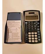 Texas Instrument TI-30X IIS Blue with Cover Scientific Calculator Solar - $11.87