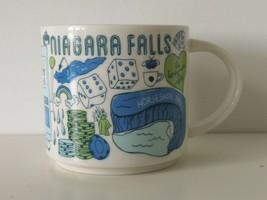 NIB STARBUCKS Been There Series Niagara Falls Tea Coffee Mug Cup 14floz / 414ml - $38.79