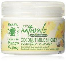 Jamaican Mango & Lime Pure Naturals Coconut Milk & Honey Moisture Masque... - $7.95