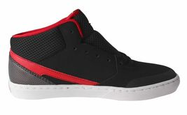 Etnies Kids Boys Black/Red Rap CM Mid Lace-Up Skate Shoes Sneakers 2US 34 NIB image 3