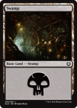 Magic The Gathering-Kaladesh-SWAMP #256 - $0.05