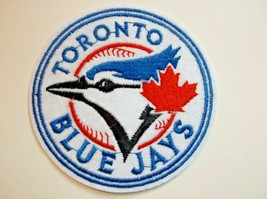 """Toronto Blue Jays Embroidered Applique PATCH~3 1/8"""" Round~Iron Sew On~Sh... - $4.75"""