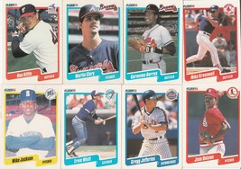 1990 Fleer Baseball Cards 33-Collectible Cards  - $30.00