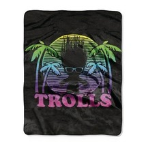 Trolls Multicolored Throw 40x50 inches - $9.99