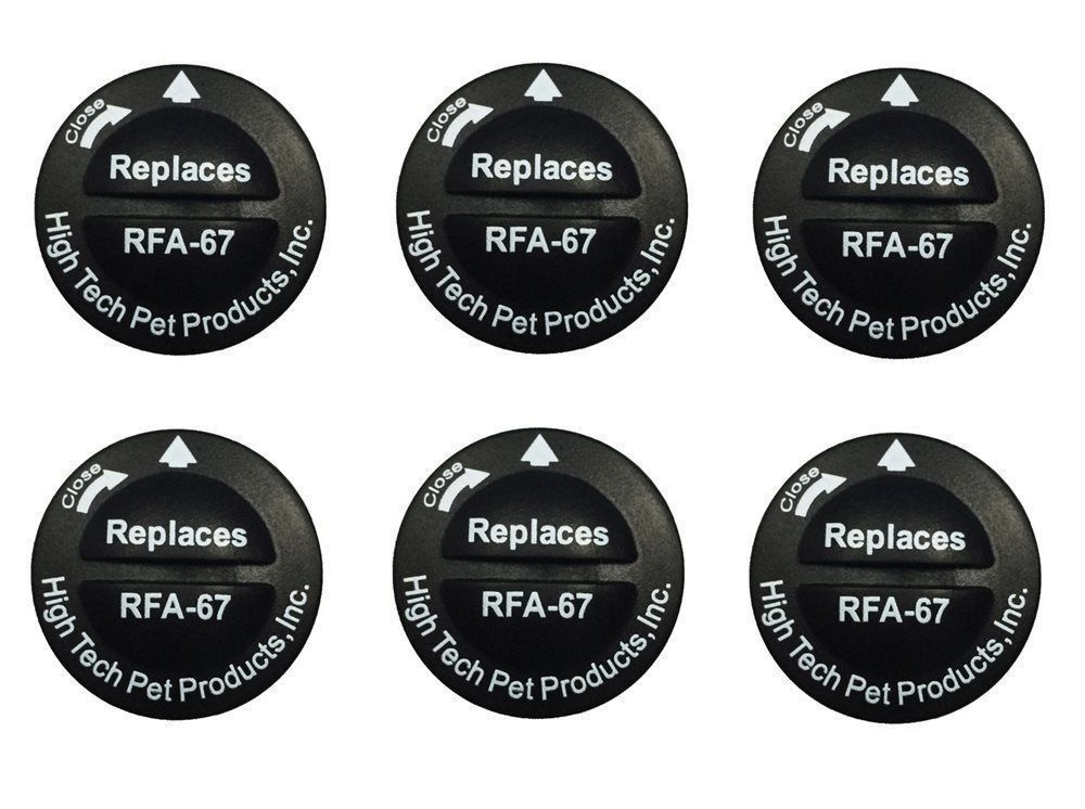 High Tech 6 RFA 67 Batteries plus Replacement Kit Shock Collar Probe Prong Post