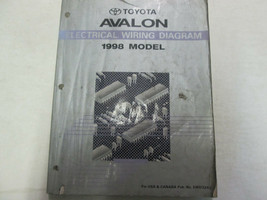 1998 Toyota Avalon electric wiring diagrams Workshop Shop Manual Factory OEM - $24.71