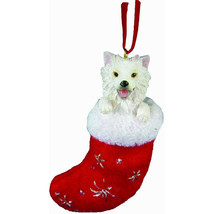 American Eskimo Santa's Little Pals Ornament - $11.95