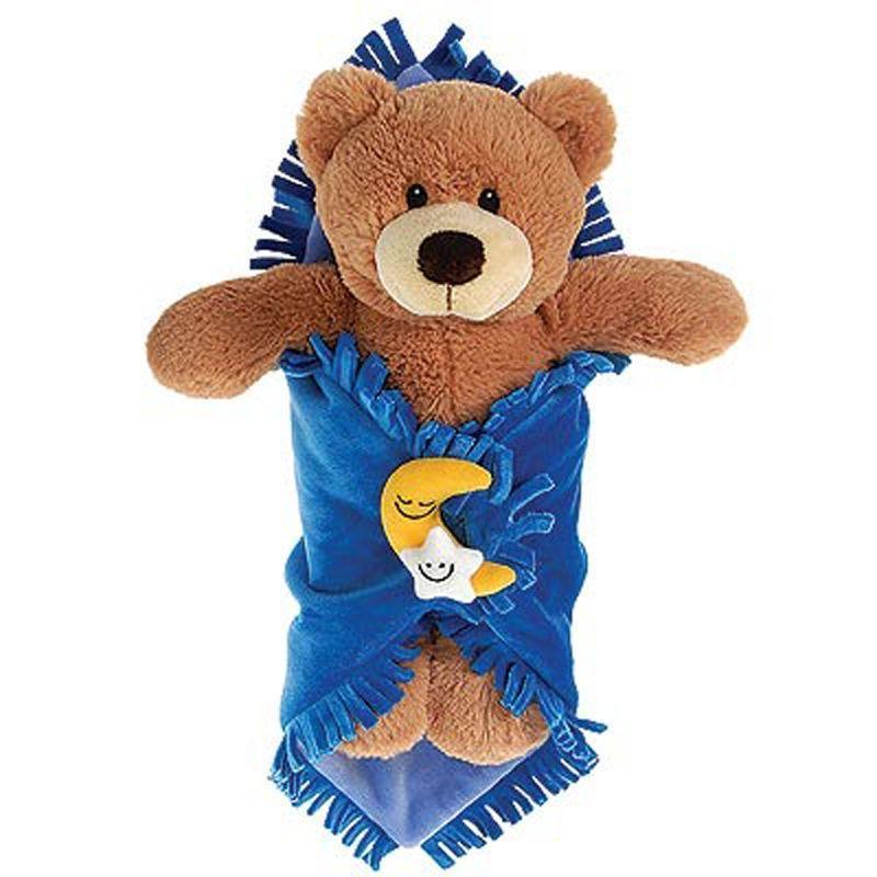 Image 1 of Precious Baby Bear Blanket Babies 11