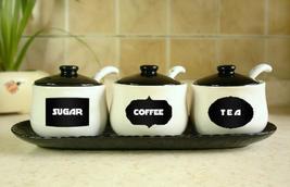 Recipientes para cafè,azucar,tè,etc.Best Chalkboard Jar Labels Stickers - $14.68