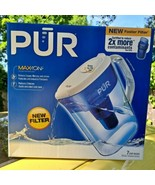 PUR Max-Ion Maxion 7 Cup Water Pitcher Filtration System With One Filter - NEW!  - $14.84