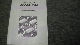2005 Toyota Avalon Electrical Wiring Diagram Service Shop Manual Ewd Factory 05 - $49.49