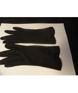 Black Cotton Girls Dress Gloves TINY! - $9.99