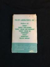 Vintage Tucks Mending Travel Sewing Kit Fuller Laboratories Advertising image 2