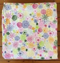 IKEA Queen Renate Flora Abstract Flowers 100% Cotton Snap Button Duvet C... - $31.99