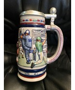 Avon Decorative Collectible Stein Brazil Great American Baseball 1984 - $9.46