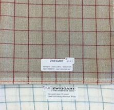 Zweigart Newport Linen 28 Count Cross Stitch Fabric RARE Raw or Opalesce... - $18.29+