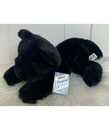 Aurora Flopsies Pals Jet Black Panther Wildcat Bean Filled Animals Plush... - $24.70