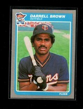 1985 FLEER #270 DARRELL BROWN NMMT TWINS - $0.99