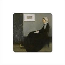 Whistler's Mother James McNeill Art Detail Vinyl Fridge Magnet - $6.64