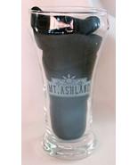 Mt Ashland Oregon Oktoberfest 2001 Half Pint Beer Glass Etched Design - $14.99
