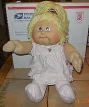1982 Coleco Cabbage Patch Kids Plush Toy Doll CPK Xavier Roberts OAA #2 - $31.56