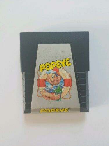 POPEYE (1983 Nintendo/Parker Bro) Atari 2600 Vintage Video Game, Cartridge ONLY
