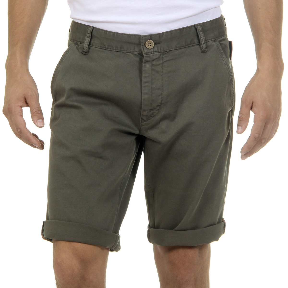 Primary image for Andrew Charles Mens Shorts Green SADECK