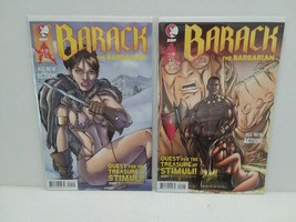 BARACK THE BARBARIAN #1 COVER 1A AND SARAH PALIN COVER 1B  - FREE SHIPPING - $9.50