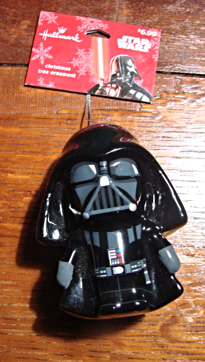 Primary image for Darth Vader Christmas Ornament-2016-Hallmark