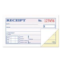 Money and Rent Receipt Books, 2-3/4 x 4 7/8, 2-Part Carbonless, 50 Sets/... - $20.25