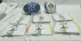 Lot of 8 Vintage Animaniacs Toy Balls 1 Football Plush 1 Softball Plush ... - $49.99
