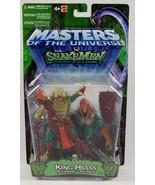 King Hssss- Masters of the Universe MOTU Snakemen Action Figure - $34.64