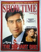 Showtime Sep 1999 Ajay Shilpa Tabu Manisha Twinkle Dev Kumar Sanu Ayesha... - $19.99