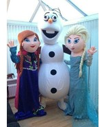 RENT Frozen ELSA ANNA Adult Mascot Costume Birthday Party Halloween Prin... - $69.99